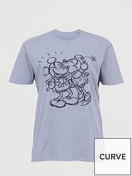 v-by-very-curve-disney-mickey-amp-minnie-t-shirt-grey-marl