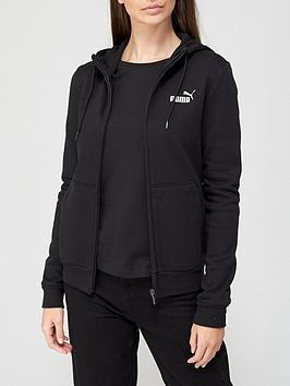 puma-essentialnbsphooded-jacket-fleece-hoodie-black