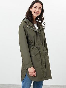joules loxley print waterproof raincoat