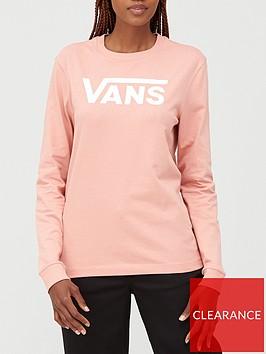 vans-flying-v-classic-long-sleeve-top-pink