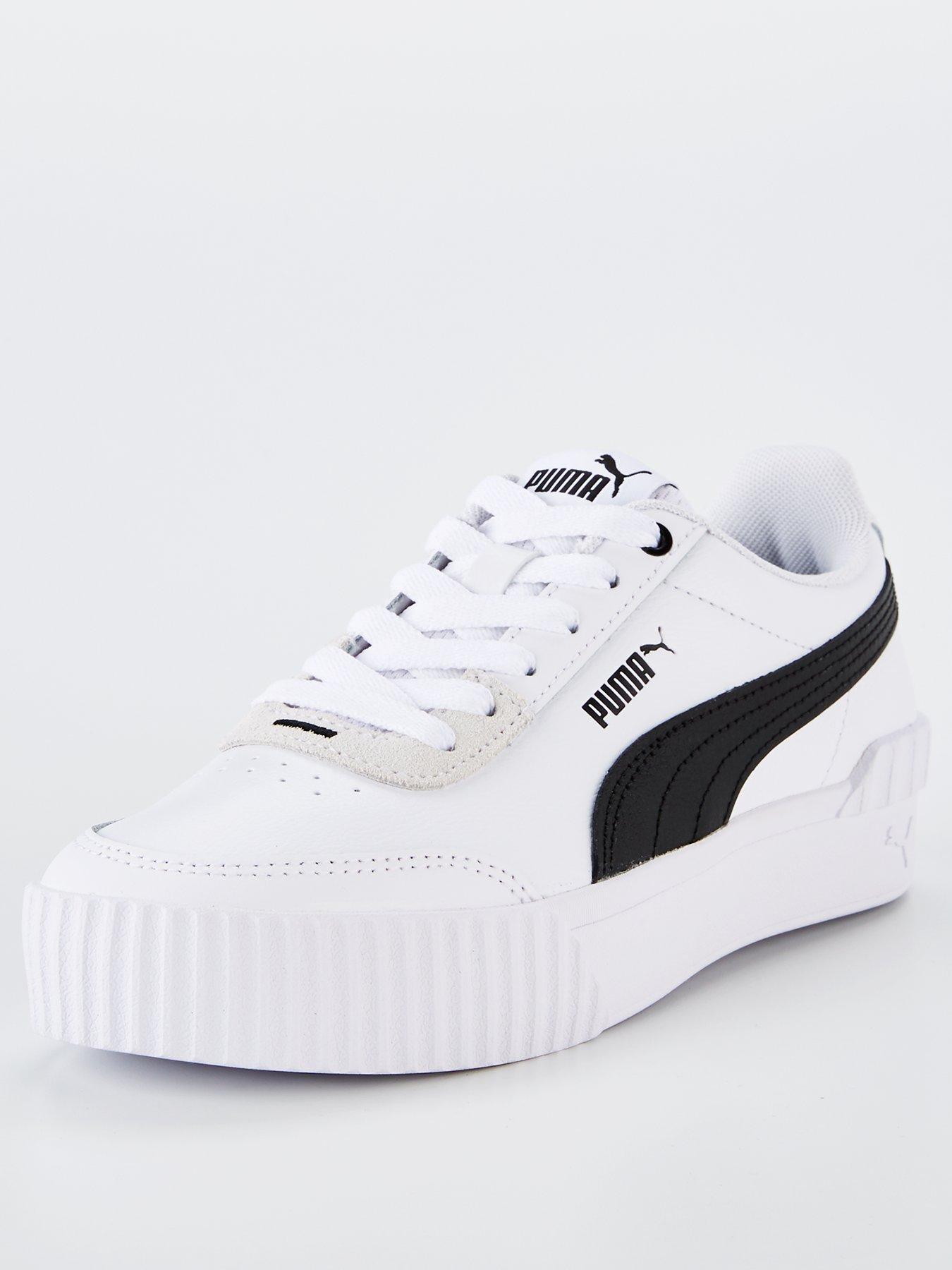 puma trainers womens grey