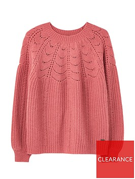 joules-jenna-fluffy-pointelle-jumper-pink