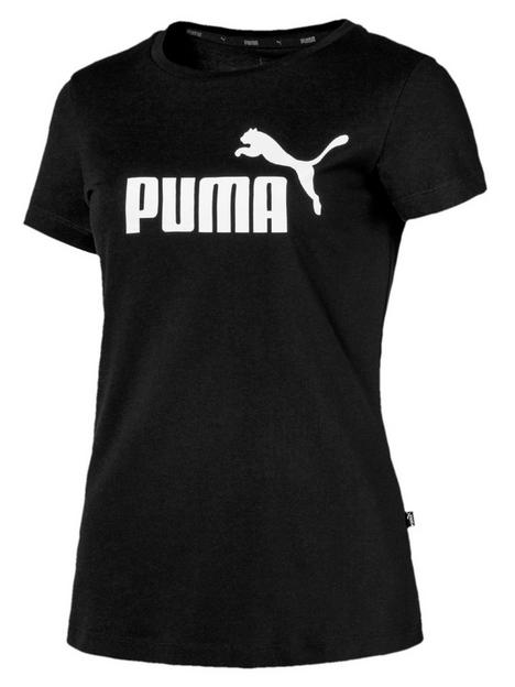 puma-essential-logo-tee-black
