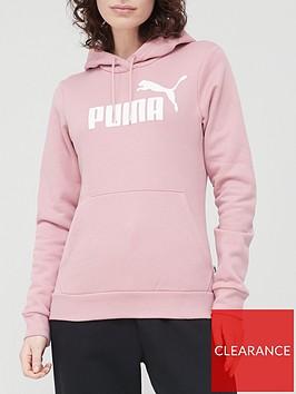 puma-essential-logo-hoodie-pink