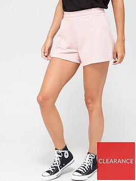 v-by-very-seam-detail-sweat-shorts-blush