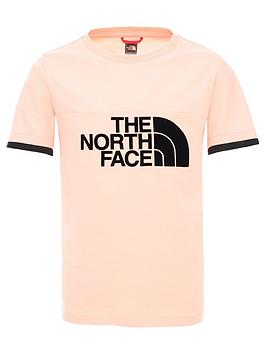 the-north-face-girls-rafiki-short-sleevenbspgirlsnbsptee-pink