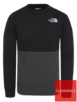 the-north-face-childrensnbspslacker-crew-black