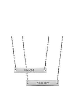 simply-silver-sterling-silver-personalised-engravable-horizontal-bar-pendant