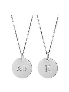 simply-silver-simply-silver-sterling-silver-personalised-engraveable-disc-pendant