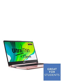 acer-swift-1-sf114-32-laptop-14-inch-full-hdnbspintel-pentium-n5000nbsp4gb-ram-256gb-ssd-optional-microsoft-365-family-1-year-rose-gold