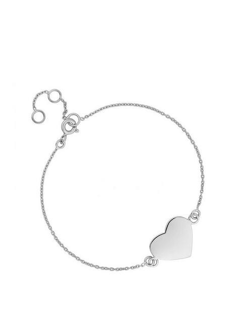 simply-silver-sterling-silver-personalised-engravable-heart-disc-bracelet