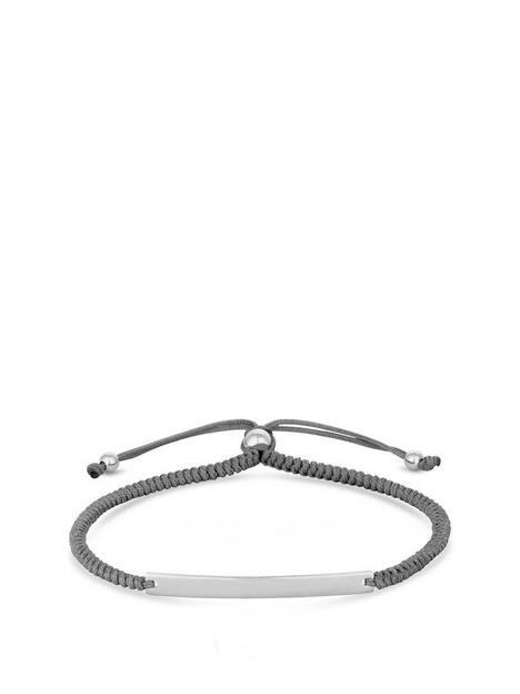 simply-silver-simply-silver-sterling-silver-personalised-engravable-bar-adjustable-grey-toggle-bracelet