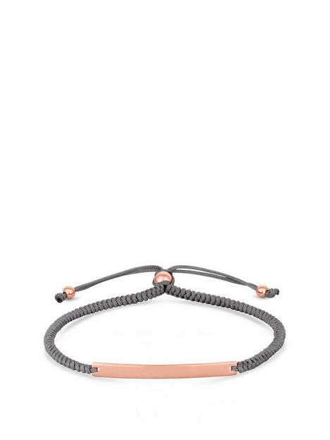 simply-silver-rose-gold-plated-sterling-silver-personalised-engravable-bar-adjustable-grey-toggle-bracelet