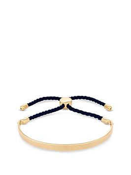 simply-silver-gold-plated-sterling-silver-personalised-engravable-bar-adjustable-navy-toggle-bracelet