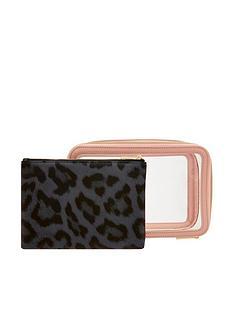 accessorize-clear-makeup-case-set-pink