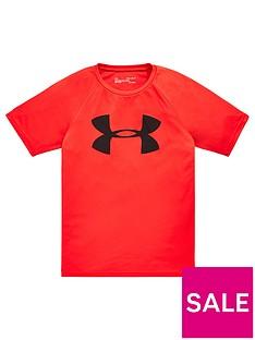 under-armour-tech-big-logo-short-sleevenbsptee-red