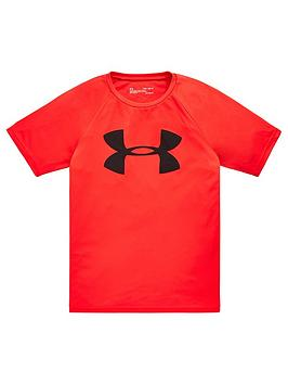 under-armour-tech-big-logo-short-sleevenbsptee-red