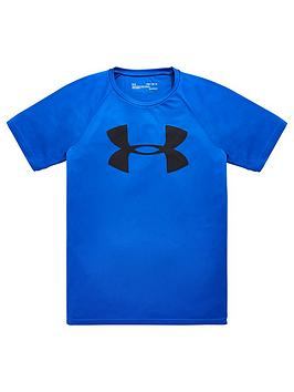 under-armour-childrensnbsptech-big-logo-short-sleevenbsptee-blue