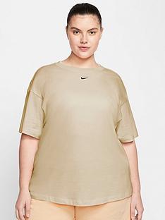 nike-nike-curve-nswnbspessential-t-shirt-oatmeal