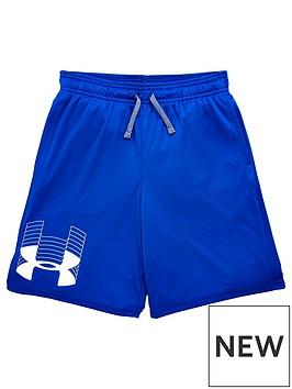 under-armour-childrensnbspua-prototype-logo-shorts-blue