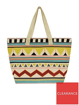 accessorize-lula-aztec-beach-tote-bag-multi