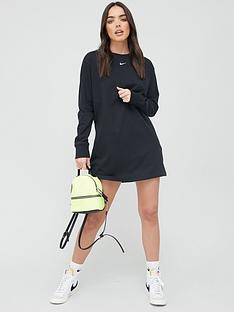 nike-nsw-essential-long-sleeve-dress-black