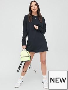 nike-nsw-essential-long-sleeve-dress-black