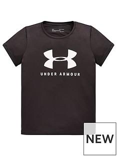under-armour-ua-tech-big-logonbspshort-sleevenbsptee-grey