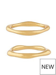 accessorize-z-irregular-stacking-ring-gold