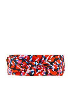 accessorize-animal-print-skinny-scarf-pink