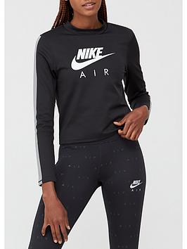 nike-running-air-long-sleevenbspmid-layer-top-blacknbsp