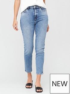 v-by-very-premium-high-waist-slim-leg-jeans-mid-wash