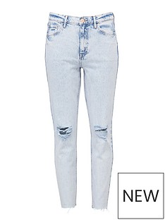 v-by-very-premium-high-waist-slim-leg-jeans-bleach-wash
