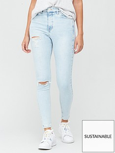 v-by-very-sustainablenbsppremium-high-waist-double-ripped-skinny-jeans-bleach-wash