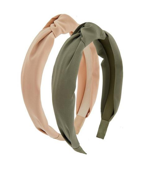 accessorize-2x-wide-knot-alice-band-pack-multi