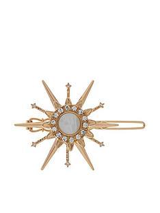 accessorize-shooting-star-clip-silver