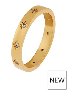 accessorize-z-sparkle-star-band-ring-gold