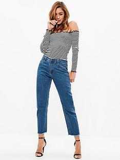missguided-missguided-wrath-high-risenbspclean-cut-hem-jeans-blue