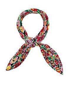 accessorize-retro-floral-crinkle-bandana-multi