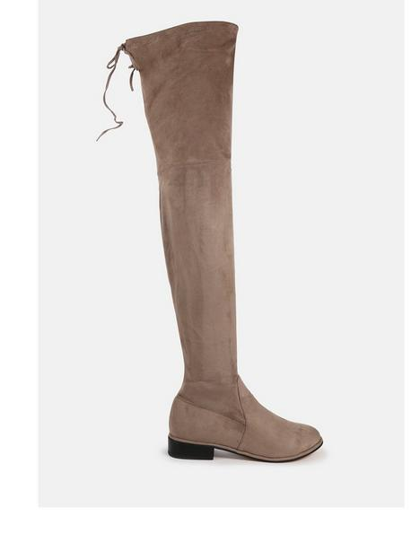 missguided-missguided-faux-suede-flat-over-the-knee-boots-mocha