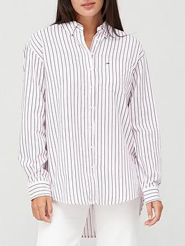 tommy-jeans-multistripe-shirt-pink
