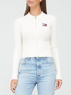 tommy-jeans-zip-thru-sweater-white