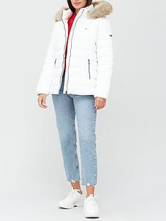 tommy-jeans-essential-faux-fur-hood-padded-coatnbsp-white