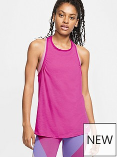 nike-trainingnbspicon-clash-tank-pink
