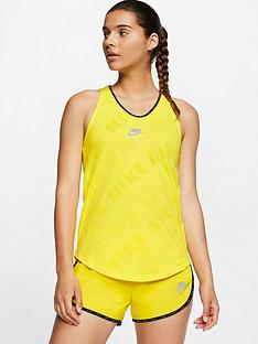 nike-running-air-tank-yellow