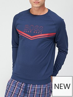 boss-bodywear-authentic-sweatshirt-navynbsp
