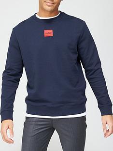 hugo-diragol-red-patch-logo-sweatshirt-dark-bluenbsp
