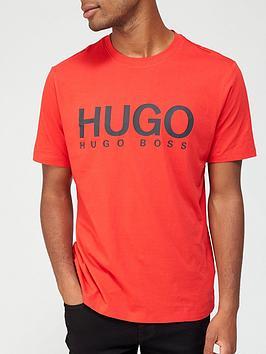 hugo-dolive-logo-t-shirt-red