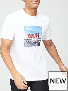 hugo-dusnbspphoto-logo-print-t-shirt-whitenbsp