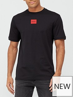 hugo-diragolino-red-patch-logo-t-shirt-blacknbsp